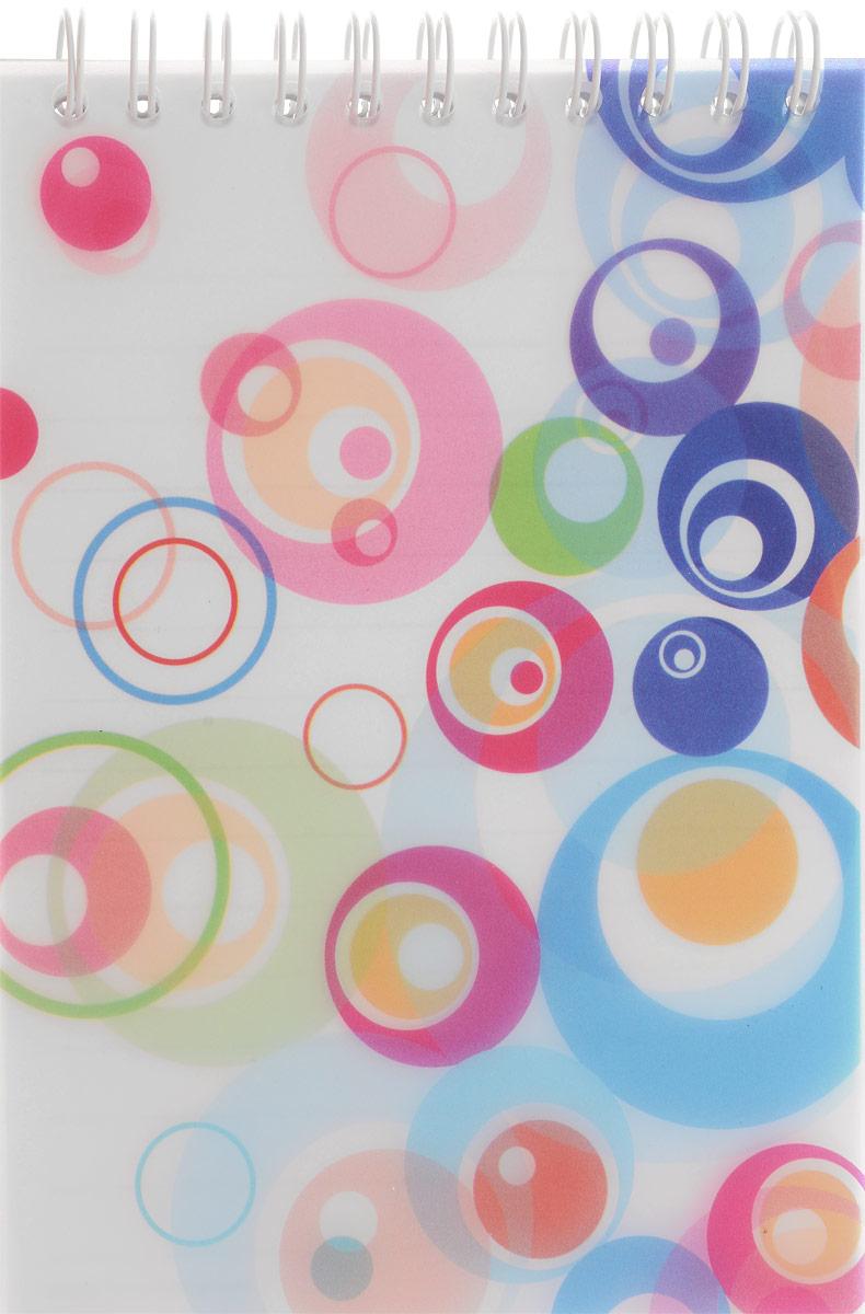 Brauberg Блокнот Пузыри 60 листов в линейку цвет синий белый розовый72523WDБлокнот на гребне Brauberg Пузыри с современным дизайном прекрасно подходит для записей и заметок.Верхний гребень обеспечивает удобство в использовании, а пластиковая обложка спереди защищает бумагу от повреждений.
