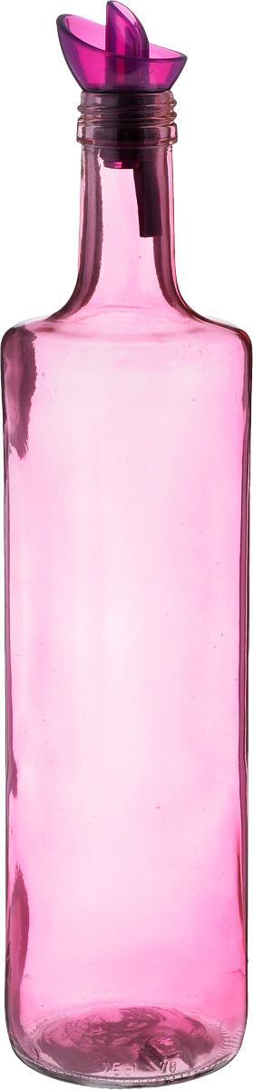Емкость для масла Herevin, цвет: розовый, 750 млВетерок 2ГФЕмкость для масла Solmazer будет отлично смотреться на вашей кухне.Изделие выполнено из стекла и покрыто пластиковой эмалью.Емкость оснащена крышкой с дозатором.Оригинальная бутылка будет отлично смотреться на вашей кухне и станет отличным подарком.Высота емкости (с учетом крышки): 32 см.