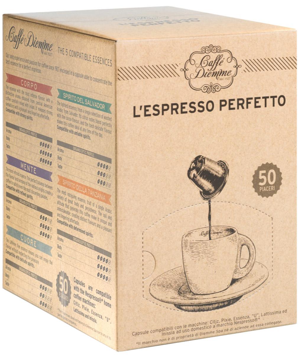 Diemme Caffe Spirito del Salvador кофе в капсулах, 50 шт кофе в капсулах caffe crema vollmundig tchibo