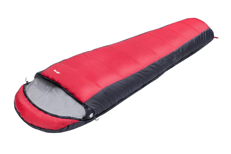 Спальный мешок TREK PLANET Track 300, цвет: серый, красный, правосторонняя молния70320Комфортный, легкий и удобный спальник-кокон TREK PLANET Track 300 предназначен для летне-осенних поездок на природу и активного отдыха.ОСОБЕННОСТИ СПАЛЬНИКА:- Удобный капюшон.- Двухсторонняя молния.- Тепловой ворот.- Термоклапан вдоль молнии.- Внутренний карман.- Небольшой вес.- Состегивание двух спальников модели невозможно. К спальнику прилагается чехол для удобного хранения и переноски. Характеристики: Цвет: серый, красный.Температура комфорта: +5°C.Температура лимит комфорта: -1°C.Температура экстрима: -13°C.Внешний материал: 100% полиэстер.Внутренний материал: 100% полиэстер.Утеплитель: Hollow Fiber 2x150 г/м2.Размер: 230 см х 85 (55) см.Размер в чехле: 24 см х 24 см х 39 см.Вес: 1,7 кг.Производитель: Китай.Артикул: 70320.