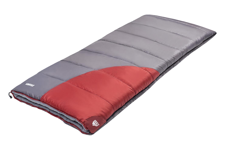 Спальник Trek Planet Dreamer, цвет: темно-серый, красный, левосторонняя молния70368(н)-LКомфортный, просторный и очень теплый 3х сезонный спальник-одеяло Trek Planet Dreamer предназначен для походов и для отдыха на природе не только в летнее время, но и в прохладные дни весенне-осеннего периода. В теплое время спальный мешок можно использовать как одеяло (в том числе и дома), полностью расстегнув молнию.Застегнутый спальник имеет габаритные размеры 90 см х 200 см. К несомненным достоинствам спальника можно отнести его повышенную комфортность и размер: спальник подходит даже для очень крупных туристов.Особенности спальника:Увеличенная ширина спальника,7-канальный наполнитель Hollow Fiber,Усиленный полиэстер RipStop,Двухсторонняя молния,Внутренний материал - мягкий поликоттон,Термоклапан вдоль молнии,Внутренний карман,Возможно состегивание спальников между собой (левая и правая молнии).К спальнику прилагается компрессионный чехол для удобного хранения и переноски. Характеристики:Цвет:темно-серый/бордовый t° комфорт: -1°C t° лимит комфорта: -7°C t° экстрим: -18°C. Внешний материал: 100% полиэстер/полиэстер RipStop Внутренний материал: 100% поликоттон Утеплитель: Hollow Fiber 7Н 2x190 г/м2. Размер спальника:200 см х 90 см. Размер в чехле: 28 см х 28 см х 41 см. Вес: 2,35 кг. Производитель: Китай. Артикул: 70368.