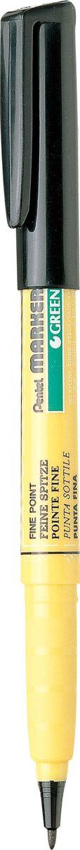 Pentel Маркер перманентный по ткани Green Label72523WDПерманентный маркер Pentel Green Label создан специально для работы по ткани. Он позволяет создавать любые рисунки и надписи практически на всех видах тканей. Перманентные чернила, являются не токсичными и полностью безопасными, легко наносятся и не растекаются, не смываются и не выгорают на свету. Тонкий наконечник маркера делает его незаменимым в создании контуров рисунков. Pentel Green Label служит отличным дополнением к масляной пастели по ткани. Маркер имеет большой объем чернил, которого хватит на длительное время.
