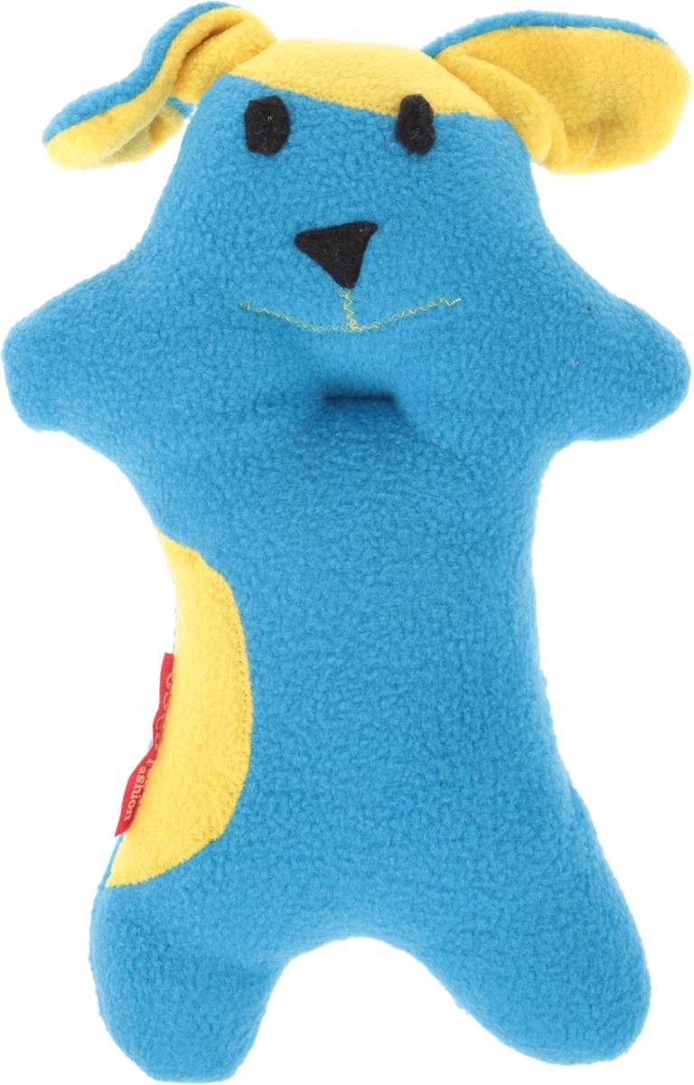 Игрушка для собак Osso Fashion Песик, с пищалкой, цвет: голубой, желтый, 18 х 26 см0120710Игрушка для собак Osso Fashion Песик, выполненная из флиса и синтепона, предназначена как для собак с очень нежными челюстями, так и для собак с хорошей хваткой. Великолепно подходит щенкам. Игрушка оснащена пищалкой. Размер подобран специально, чтобы собака могла захватить, нести или грызть игрушку.Игрушки из флиса отличаются высокой прочностью, поэтому прослужат вам долго. Они великолепно стираются в стиральной машине (при 40°С), не теряя цвета и формы, так что им не страшны ни грязь, ни лужи, ни земля. Изделие выдержит даже игры с собаками, без потерь для своего внешнего вида.