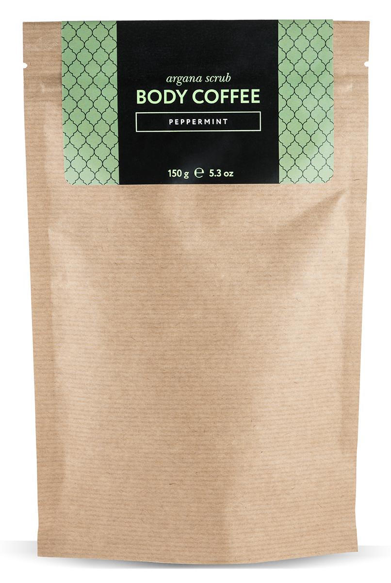 Huilargan Аргановый скраб кофейный, мята 150 г26064Натуральный кофейный скраб Body Coffee pepermint на основе органического масла арганы с добавлением мяты - отличное антицеллюлитное средство ведь ментол способствует расщеплению подкожных отложений. BodyCoffee peppermint пробудит вашу кожу волшебным ароматом свежезаваренного кофе, наполнит бодростью, подарит тонус и заряд энергии на весь день, оставив мятный шлейф бодрости и свежести. Наш скраб состоит исключительно из органических компонентов, все ингредиенты натуральные и получены природным путем, поэтому наш продукт так эффективен. Body Coffee peppermint производится в Марокко. Его основным ингредиентом является колумбийский кофе, который славится своим тонизирующим, лимфодренажным и общеукрепляющим свойством. Тростниковый нерафинированный сахар - питает, отшелушивает и обновляет кожу. Аргановое масло регенерирует клетки кожи, стимулирует выработку коллагена и эластана.