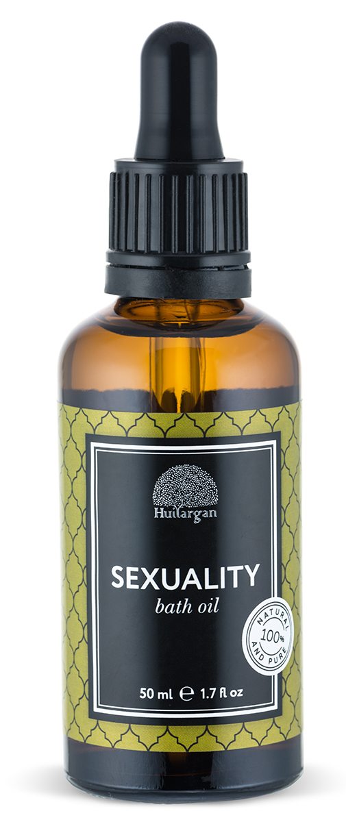 Huilargan Масло для ванны, антистресс, 50 млFS-00897Масло для ванны СексуальностьПеред вами уникальный продукт, созданный для того, чтобы принятие ванны стало не только приятной процедурой, но и полезной. Состав масла для ванны бережно разработан нашими специалистами и несет в себе все полезные свойства масла арганы, миндаля и эфирных масел. Масло Арганы питает, заживляет и регенерирует кожу, масло миндаля тонизирует и увлажняет, наполняя кожу сиянием, а композиция высококачественных эфиров работает по принципу аромотерапии. Масло не растворяется полностью в воде, оставляя на теле защитную пленку, которая полезна для кожи, не оставляя следов жирности. С любовью подобранная композиция эфирных масел является шикарной аромотерапией и создана для того, чтобы разбудить чувственность и сексуальность. Иланг-иланг, роза и жасмин – мощнейшие природные афродизиаки. Принимая такую ванну, вы не только обретете желанность и привлекательность, но и сможете ощутить свою чувственность, подарив блаженство себе и окружающим