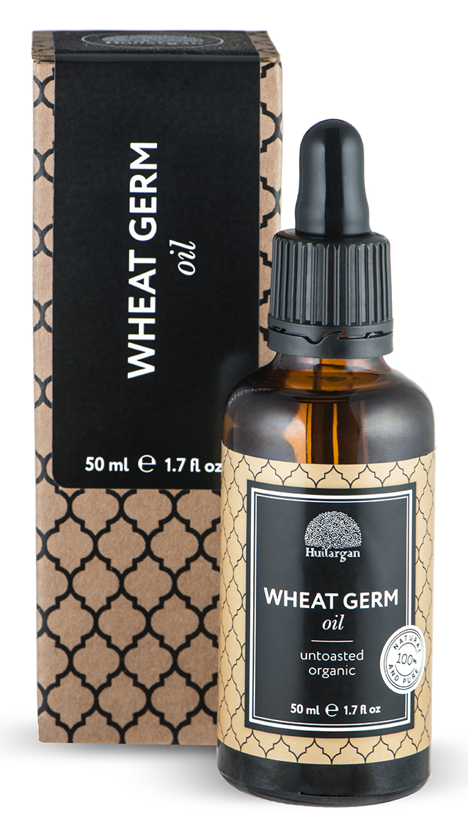 Huilargan Зародыши пшеницы, 50 млCS0014K05Масло зародышей пшеницы имеет очень приятный солнечный запах. Богато кислотами омега-3, 6. Это также очень важный источник витамина. Е (эффект Anti-age). Масло глубоко проникает в клетки кожи, это отличное средство для омолаживания и восстановления эластичности кожи, рекомендуется для ухода за кожей лица и зоны декольте. Питает и защищает, особенно подходит для обезвоженной, сухой кожи, потрескавшейся кожей. Масло зародышей пшеницы может использоваться для снятия макияжа и как смягчающее средство для кожи лица и тела. Питает, тонизирует и защищает кожу рук и губ при холодной погоде.