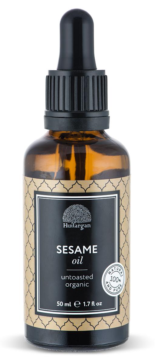 Huilargan Кунжутное масло, 50 млFS-00897Масло кунжута - чистое и натуральное масло, первого холодного отжима, без химической обработки. Кунжутное масло известно своими восстанавливающими и смягчающими свойствами, в составе: витамины Е, D, A, B, C, магний, железо, фосфор, кальций, цинк, селен, лецитин. Идеальное средство для ухода за зрелой кожи. Масло кунжута быстро впитывается в кожу, не оставляя жирной пленки. Используйте для защиты от ультрафиолетовых лучей.