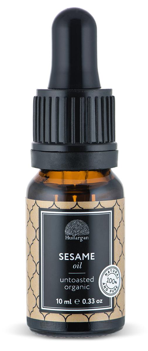 Huilargan Кунжутное масло, 10 млFS-00897Кунжутное масло известно своими восстанавливающими и смягчающими свойствами, и также обладает антиоксидантными свойствами благодаря своему богатому антиоксидантному составу (витамин. Е, селен, сезамолин, лецитин), что делает его идеальным средством для ухода за зрелой кожи. Масло кунжута быстро впитывается в кожу, не оставляя жирной пленки. Содержит магний, железо, фосфор, цинк, а также большое количество кальция, так же содержит витамины D, A, B1, B3, C. Оно богато незаменимыми жирными кислотами (арахиновая, линолевая, олеиновая, пальмитиновая и стеариновая), восстанавливает и смягчает ткани кожи. Восстанавливает и питает кожу, не оставляя жирной пленки. Поглощает ультрафиолетовые лучи, он используется для защиты от лучей солнца.