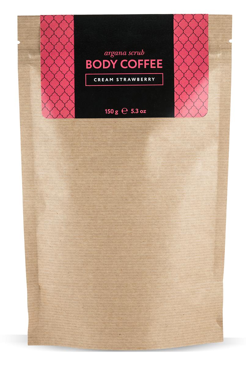 Huilargan Аргановый скраб кофейный, клубника со сливками, 150 гSC-00016Арагновый скраб BodyCoffee Cream Strawberry. Кофе для тела пробудит вашу кожу волшебным ароматом свежезаваренного кофе, наполнит бодростью, подарит тонус и заряд энергии на весь день. Перед вами уникальный скраб, который стал уже всеми любим, в составе которого находятся настоящие сливки, они прекрасно увлажняют, питают, смягчают, насыщают витаминами кожу и клубника, фруктовые кислоты которой обладают прекрасным омолаживающим эффектом. Аромат этого скраба не оставит никого равнодушным. Наш скраб состоит исключительно из органических компонентов, все ингредиенты натуральные и получены природным путем, поэтому наш продукт так эффективен.