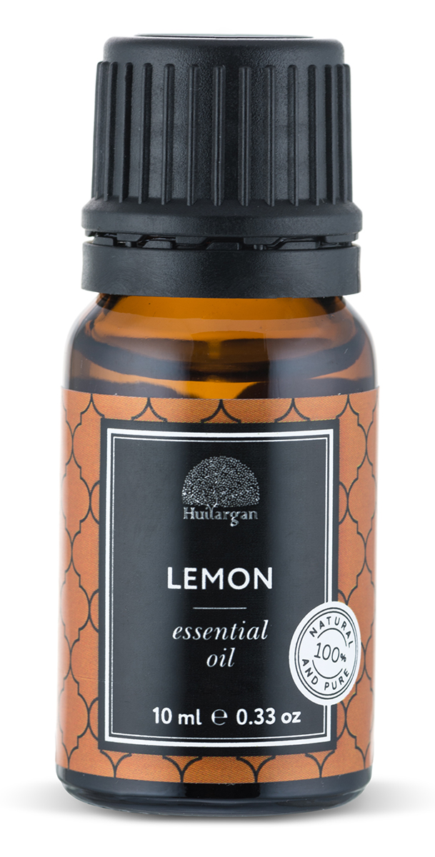 Huilargan Эфирное масло, лимон, 10 млБ40FOKЭфирное масло Лимон – Сitrus LimonСвойства:o Это универсальное масло. o Обладает сильным лечебным действием. Применение:o Добавлять можно в косметические средства. o По желанию примите ванну или залейте масло в аромалампу и оздоравливайте все тело. Возможна индивидуальная непереносимость.