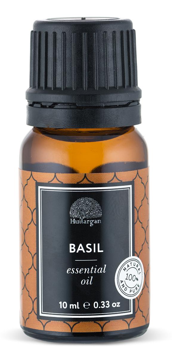 Huilargan Эфирное масло, базилика, 10 млБ40FOKУстраняет проявления нервного истощения, бессонницу, меланхолию.Омолаживает, тонизирует и разглаживает кожу.Снимает вопалительные процессы.Препятствует выпадению волос.Сводит бородавки.