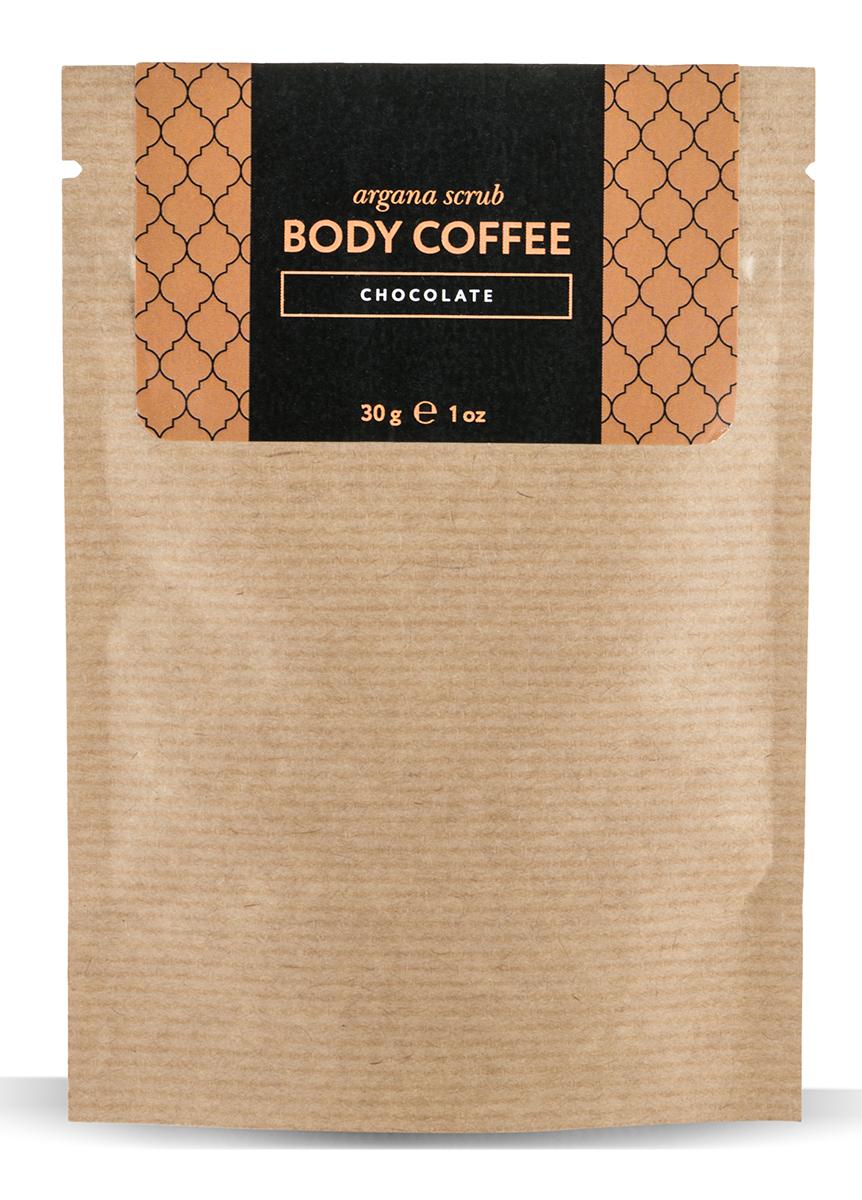 Huilargan Аргановый скраб кофейный, шоколад, 30 гFS-00897кофе для тела пробудит вашу кожу волшебным ароматом свежезаваренногокофе, наполнит бодростью, подарит тонус и заряд энергии на весь день, оставив на теле деликатный запах горькогошоколада.