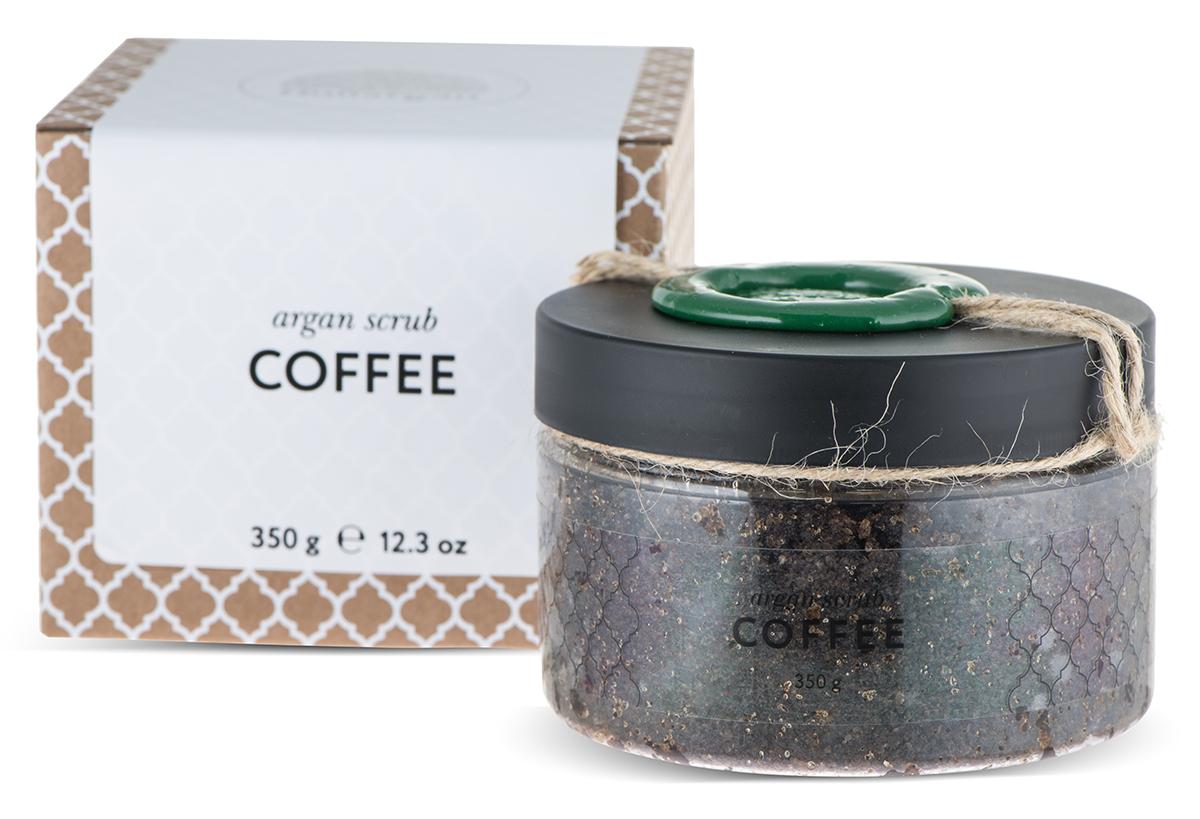 Huilargan Аргановый скраб солевой, кофейный, 350 гFS-00897100% натуральный продукт, содержащийв своем составе морскую соль и натуральный марокканский кофе. Эффективно избавляет от целлюлита, способствует расщеплению жировых отложений,придает тонус коже, оказывает тонизирующий эффект.