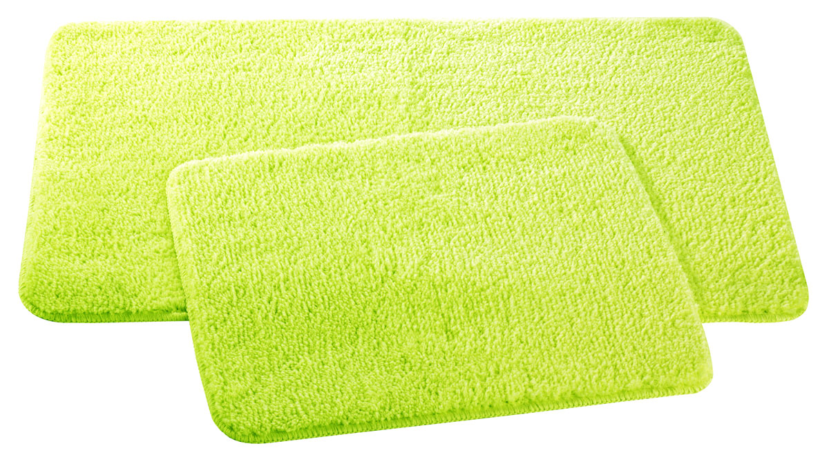 Набор ковриков для ванной и туалета Axentia, цвет: мятный, 2 шт68/5/4Набор Axentia, выполненный из микрофибры (100% полиэстер), состоит из двух стеганых ковриков для ванной комнаты и туалета. Противоскользящее основание изготовлено из термопластичной резины и подходит для полов с подогревом. Коврики мягкие и приятные на ощупь, отлично впитывают влагу и быстро сохнут. Высокая износостойкость ковриков и стойкость цвета позволит вам наслаждаться покупкой долгие годы. Можно стирать в стиральной машине. Размер ковриков: 50 х 80 см; 50 х 40 см.Высота ворса 1,5 см.
