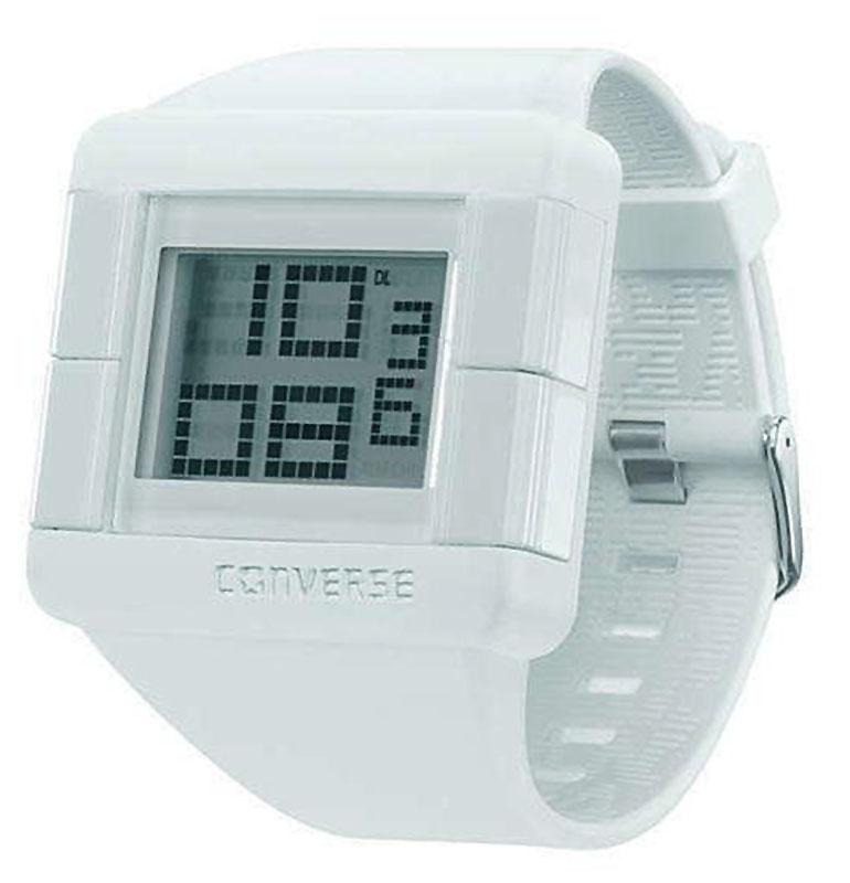 Часы наручные Converse Score-All, цвет: белый. VR014-125BM8434-58AEЧасы Converse - яркие, динамичные, неформальные - в полной мере отражают дух бренда, который мы так хорошо знаем по легендарным кедам. Часы оснащены гибким ремешком из силикона. У часов 12 часовой формат времени. Имеется индикатор числа, таймер обратного отсчета и будильник. Часы выполнены с плоским стеклом, устойчивым к царапинам и бесшумным механизмом. Часы Converse отлично подойдут как мужчинам, так и женщинам.