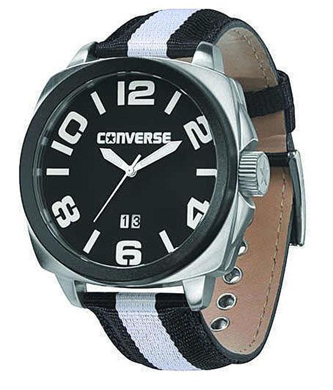 Наручные часы Converse Andover, цвет: черный. VR036-005BM8434-58AEЧасы Converse - яркие, динамичные, неформальные - в полной мере отражают дух бренда, который мы так хорошо знаем по легендарным кедам.