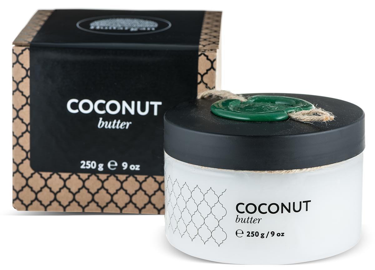 Huilargan Кокос масло, баттер, 250 гZ4202Отличный питательный компонент, легко и быстро смягчает сухую кожу стоп,локтей, коленей, удерживает влагу вклетках сухой кожи. Очищает кожу отвсех загрязнений, его можно использовать для снятия макияжа. Разглаживаетморщины вокруг глаз и укрепляет ресницы, способствуя их росту и густоте.Укрепляет, питает и стимулирует ростволос. Укрепляет ломкие ногти.
