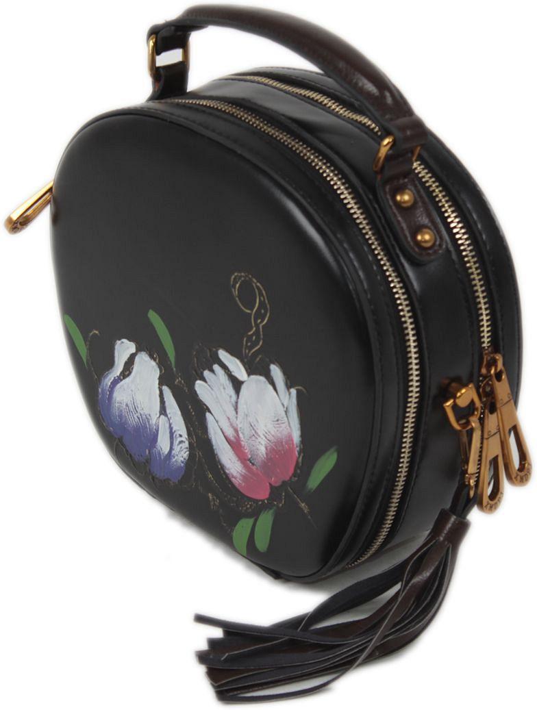 Сумка женская Flioraj, цвет: черный. 9097-2101248Закрывается на молнию. Внутри четыре отделения, два открытых кармана, два на молнии. В комплекте наплечный ремень. Высота ручки 7 см.