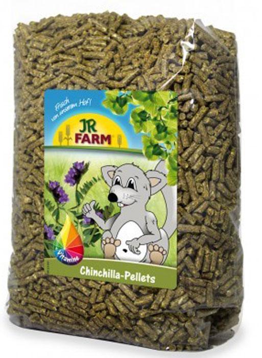 Корм для шиншилл JR Farm, 1 кг0120710Пеллеты (гранулы) для шиншилл - это сбалансированный полнорационный корм, содержащий все необходимые питательные вещества, а так же высокий процент клетчатки для здорового пищеварения.