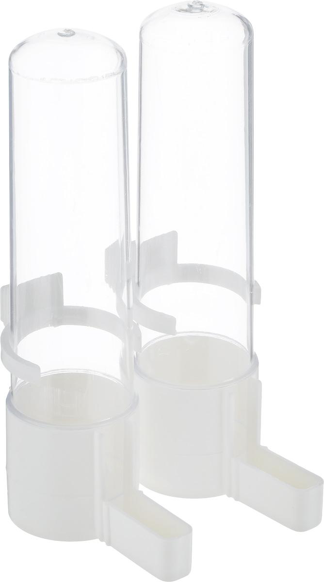 Поилка для птиц Savic, 2 шт. 5910-000073438Поилка для птиц Savic понравится вашему питомцу. Изделие выполнено из высококачественного пластика.Воду невозможно пролить, благодаря надежной конструкции.Высота поилки: 15 см.В комплекте две поилки.