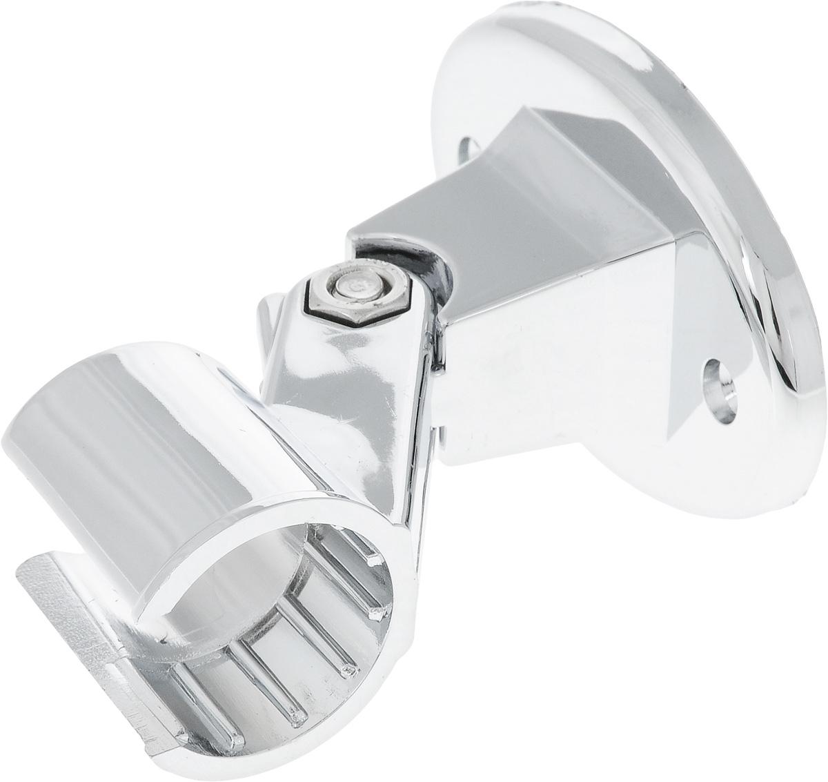 Держатель душевой лейки Euroshowers Simple68/5/3Держатель для лейки Euroshowers Simple изготовлен из ABS-пластика, высокопрочного и легкого материала, с надежным никель-хромовым покрытием, которое гарантирует идеальный зеркальный блеск и защиту изделия на долгий срок. Держатель предусматривает возможность регулировки наклона лейки, что позволяет размещать ее под комфортным углом.В комплект входят крепления. Размер держателя: 8 см х 9 см х 5 см.