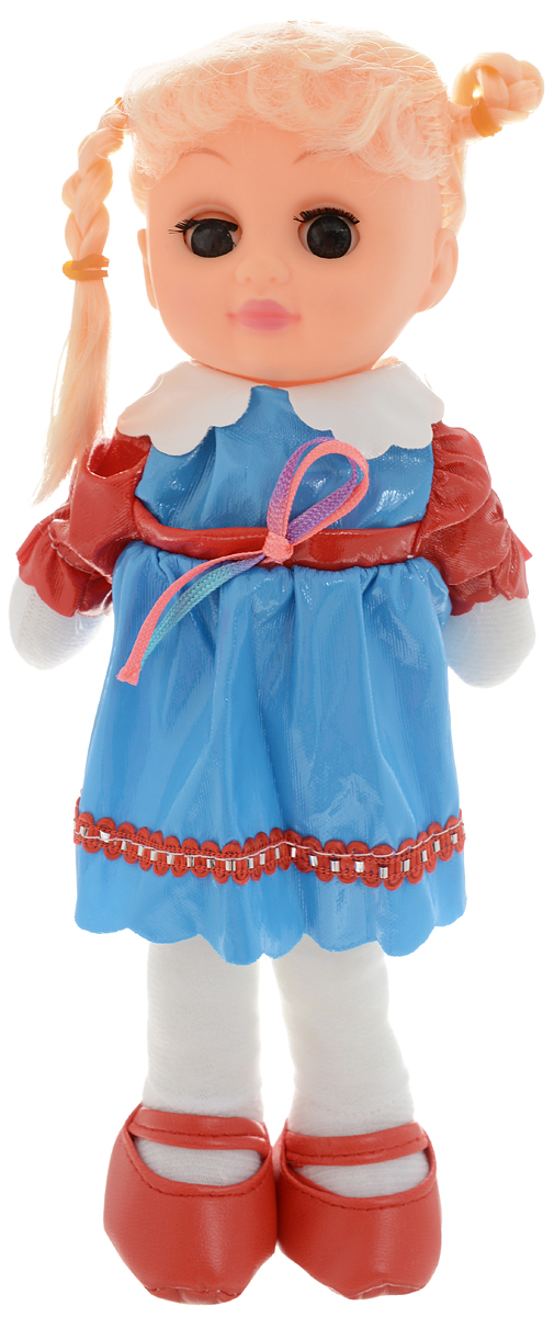 Sima-land Мягкая кукла цвет голубой красный