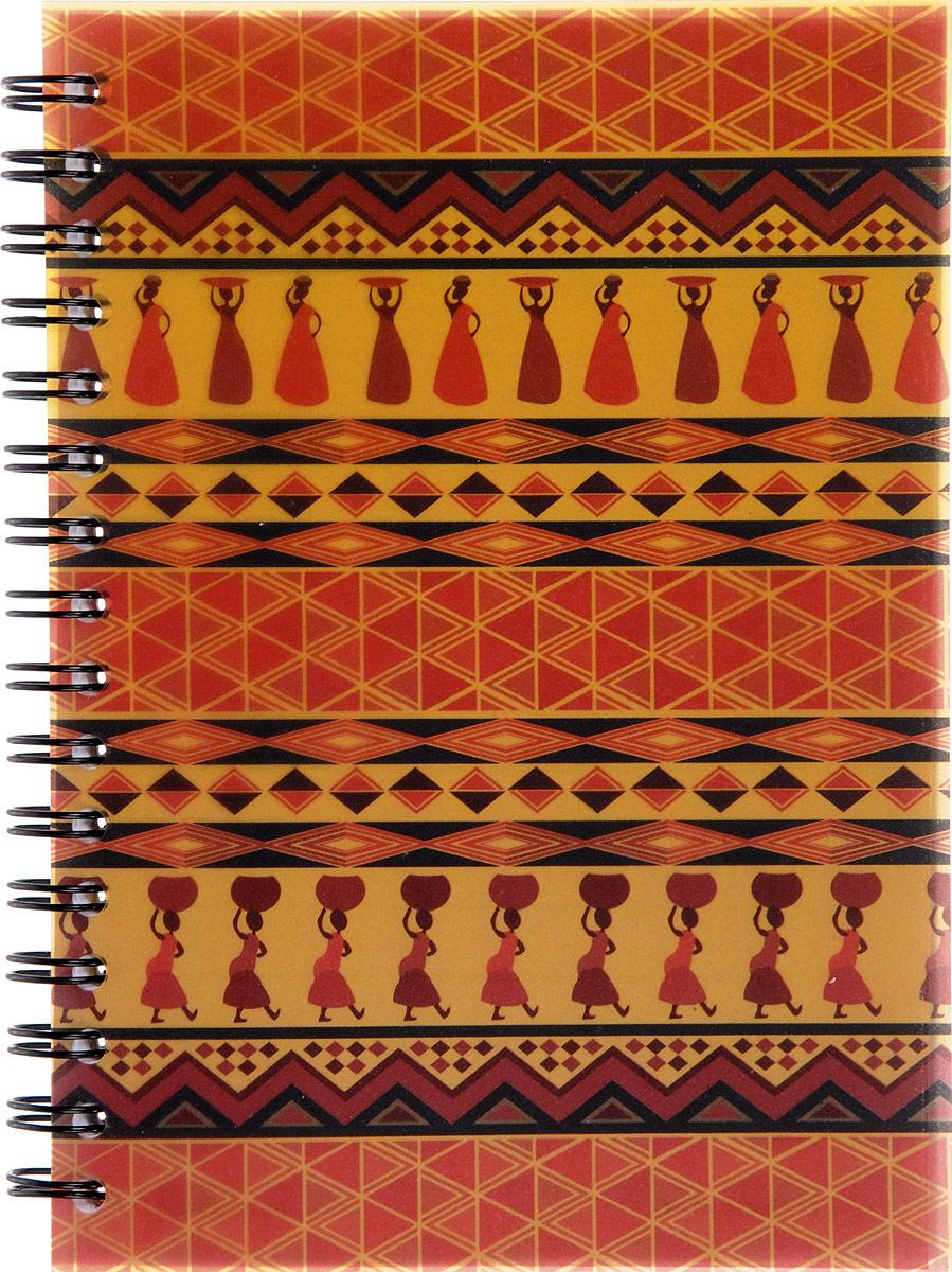 Brauberg Блокнот Африка вид 4 60 листов в линейку72523WDБлокнот Brauberg Африка - яркий и стильный атрибут для записей с этническим рисунком. Пластиковая обложка долго сохраняет привлекательный внешний вид.Внутренний блок состоит из 60 листов высококачественного офсета в линейку. Листы блокнота соединены металлическим гребнем.