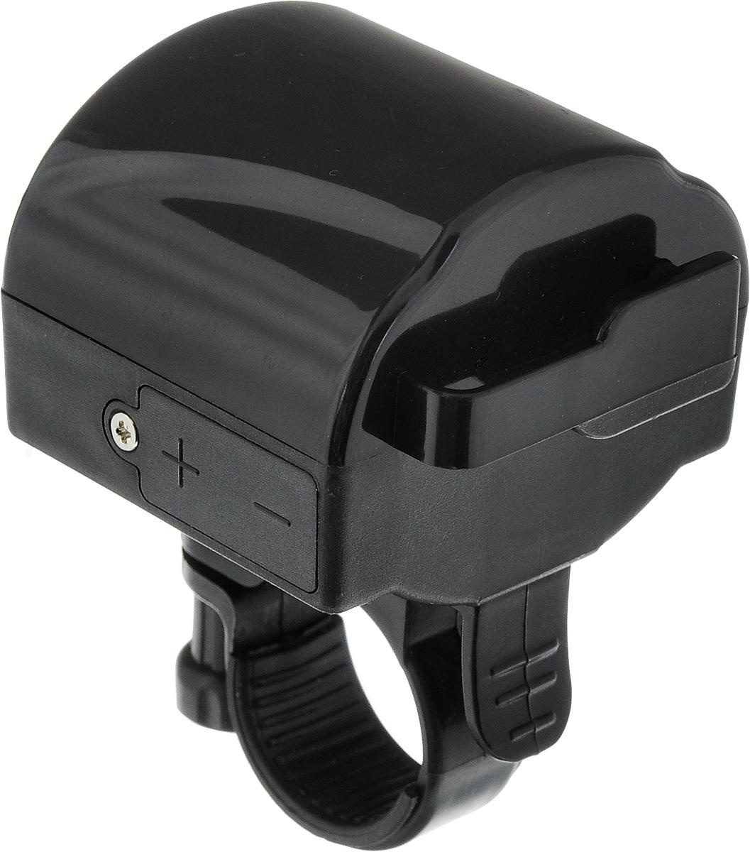 Звонок велосипедный STGZ90 blackЗвонок STG изготовлен из металла и пластика. Изделие крепится на руль велосипеда и позволяет привлечь внимание в опасных ситуациях. Оригинальный звонок сделает вашу езду безопасной. Работает от двух батареек типа ААА (входят в комплект).Размер звонка (без учета крепления): 5,5 х 5 х 4 см.