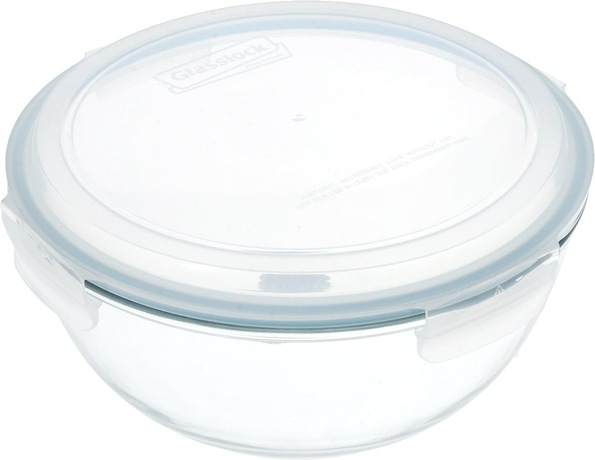 Контейнер стеклянный Glasslock, круглый, с крышкой, цвет: прозрачный, голубой, 6 лVT-1520(SR)Круглый контейнер Glasslock изготовлен из высококачественного закаленного ударопрочного стекла. Герметичная крышка, выполненная из антибактериального пластика и снабженная уплотнительной резинкой, надежно закрывается с помощью четырех защелок. Подходит для мытья в посудомоечной машине, хранения в холодильных и морозильных камерах, использования в СВЧ-печах. Выдерживает резкий перепад температур.Стеклянная посуда нового поколения от Glasslock экологична, не содержит токсичных и ядовитых материалов; превосходная герметичность позволяет сохранять свежесть продуктов; покрытие не впитывает запах продуктов; имеет утонченный европейский дизайн - прекрасное украшение стола. Характеристики:Материал: стекло, пластик. Размер контейнера (без учета крышки): 30 см х 30 см х 14 см. Объем контейнера: 6 л. Размер упаковки: 31 см х 31 см х 15 см. Производитель: Корея. Артикул: MBCB-600.УВАЖАЕМЫЕ КЛИЕНТЫ!Обращаем ваше внимание на возможные изменения в цвете резинки-уплотнителя на крышке контейнера. Поставка осуществляется в зависимости от наличия на складе.