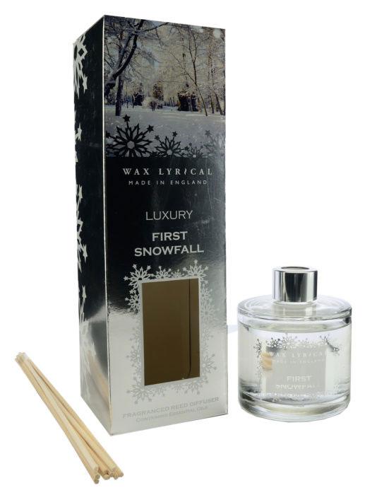 Диффузор ароматический Wax Lyrical Первый снег, 180 мл41252Диффузор ароматический Wax Lyrical Первый снег - это простое, изящное и долговременное решение, как наполнить дом или офис приятным запахом. Свежий, спокойный аромат, сочетающий в себе инжирные, цитрусовые и морские ноты, а также состоящий из цветочного микса лилии и жасмина. Диффузор - это не просто освежитель воздуха, а элемент декора, который окутает вас своим приятным и нежным ароматом. Отлично подойдет в качестве подарка. Способ применения: поместите палочки в вазу с ароматической жидкостью. Степень интенсивности запаха может регулироваться объемом ароматической жидкости и количеством палочек. Товар сертифицирован.