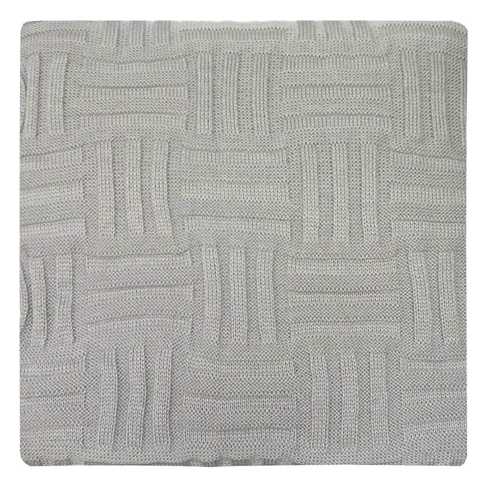 Плед Apolena Silver Quadro, 130 х 180 см87-V353/1Вязаный плед для кресла пригодится в любое время года. Плед выполнен из мягкой объемной пряжи с модным рисунком квадраты. Удобство, комфорт, стиль и экологичность в одном предмете.
