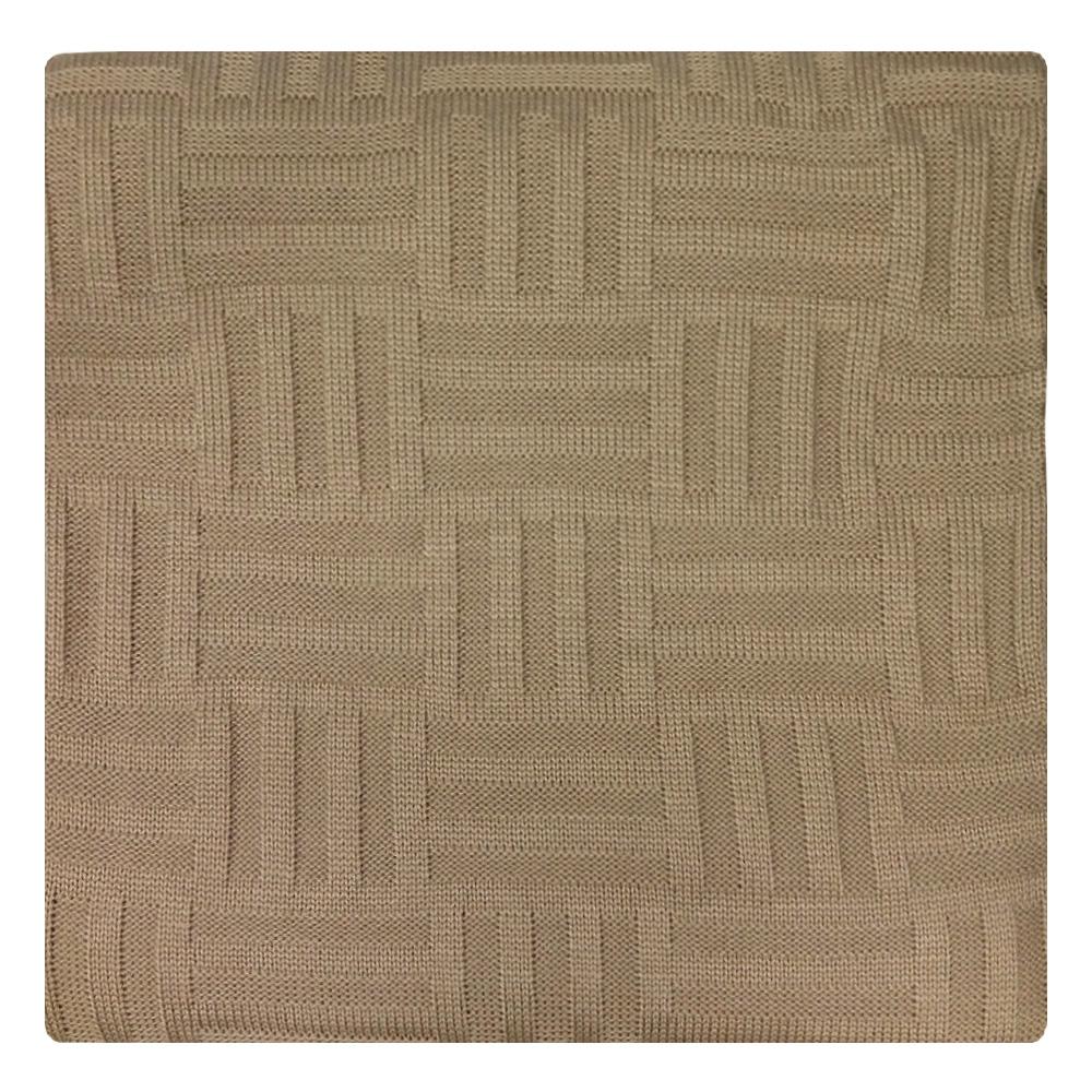 Плед Apolena Beige Quadro, цвет: бежевый, 130 х 180 см87-V305/1Плед Apolena Quadro выполнен из мягкой объемной пряжи, обеспечивающей хорошую теплозащиту и комфорт. Высокое качество материала гарантирует отсутствие пиллинга при правильном уходе. Вязаный плед используется в качестве шали или накидки на односпальную кровать, диван или кресло. В плед можно укутаться, а также использовать в качестве декоративного элемента оформления интерьера. Вязаный плед пригодится в любое время года.Изделие дополнено модным рисунком квадраты. Удобство, комфорт, стиль и экологичность в одном предмете.