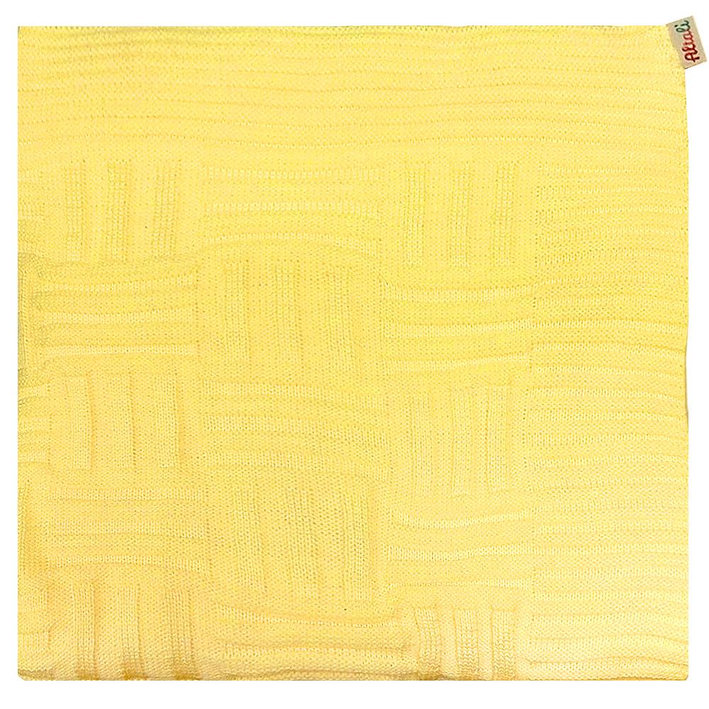 Плед Apolena Light Yellow Quadro, 130 х 180 см87-V336/2Вязаный плед для кресла пригодится в любое время года. Плед выполнен из мягкой объемной пряжи. Удобство, комфорт и стиль и экологичность в одном предмете. Данный оттенок хорошо сочетается с коллекциями в стиле Эко - тренд, такими как Сахара, Лучистые ромашки, а твкже с геометрическими коллекциями Солнечная долина, Дыхание Востока.
