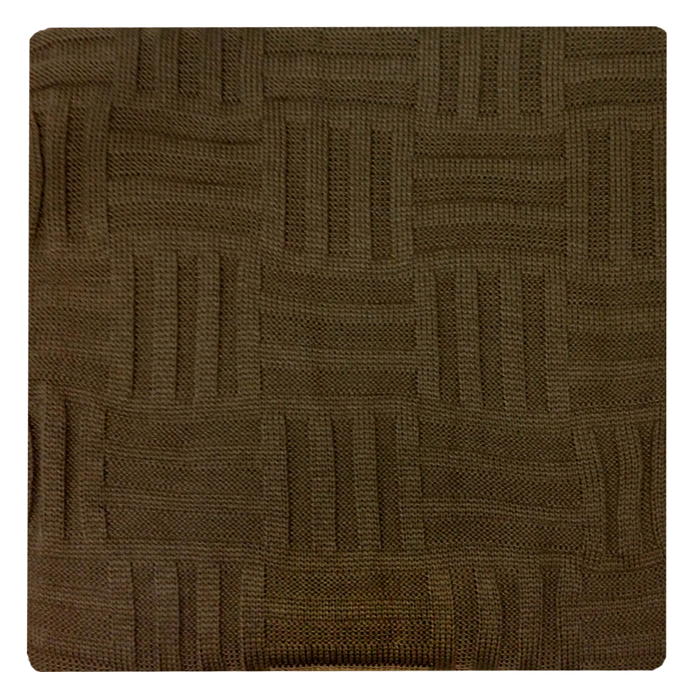 Плед Apolena Mokko Quadro, 130 х 180 см1004900000360Вязаный плед для кресла пригодится в любое время года. Плед выполнен из мягкой объемной пряжи с модным рисунком квадраты. Удобство, комфорт и стиль и экологичность в одном предмете.