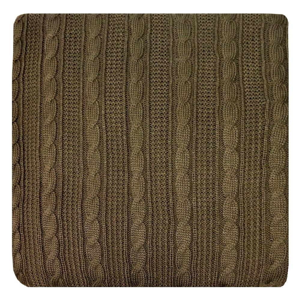 Плед Apolena Mokko, 130 х 180 смES-412Вязаный плед для кресла пригодится в любое время года. Плед выполнен из мягкой объемной пряжи с модным рисунком косичка. Удобство, комфорт и стиль и экологичность в одном предмете.