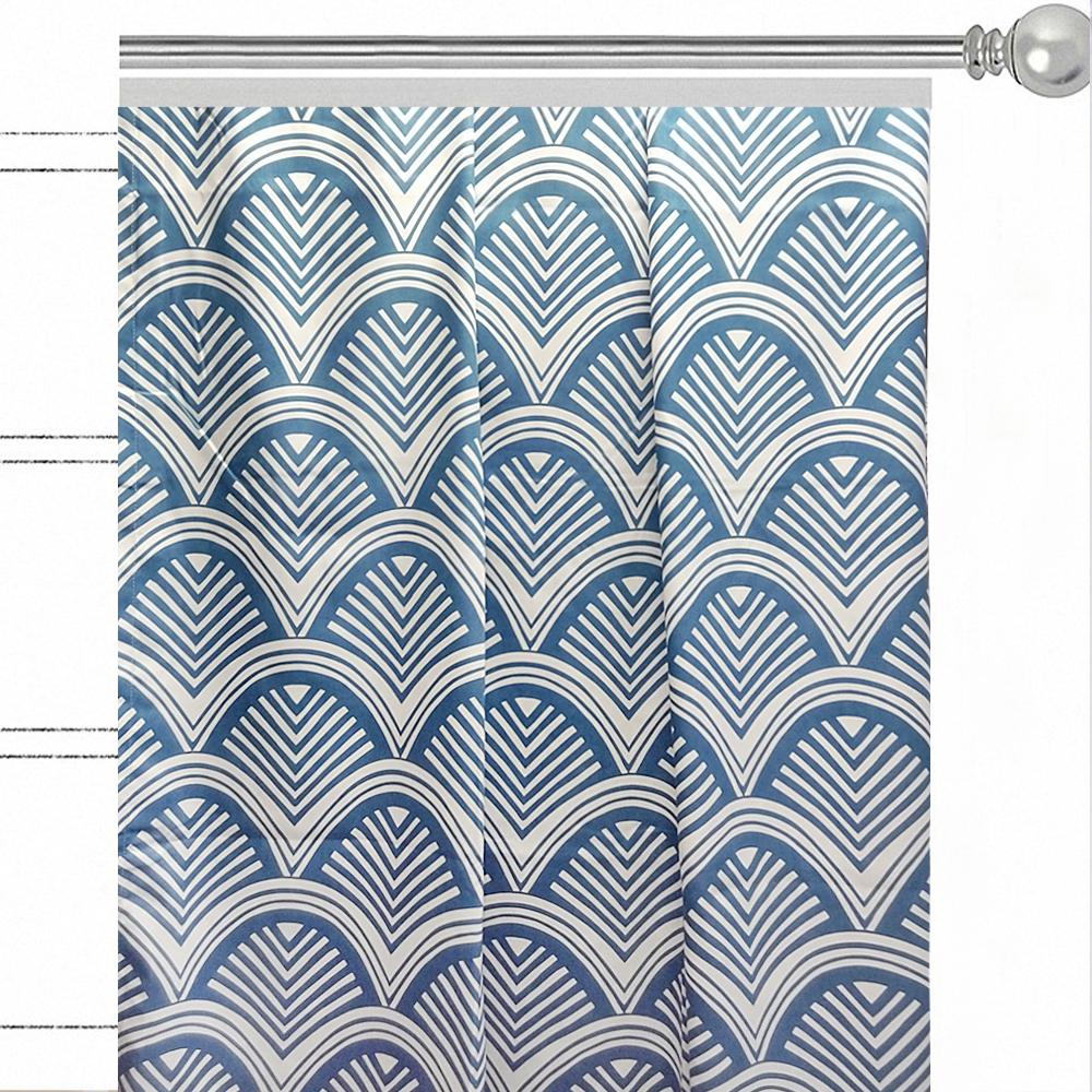 Штора Altali Biscay Bay, на ленте, высота 270 смVCA-00Шторы с рисунком из новой коллекции Altali изготовлены из инновационной ткани на основе микроволокна. Бархатистая поверхность ткани обладает так называемым пич эффектом, который не только дает приятные тактильные ощущения но и поглощает пыль. Дизайн шторы позволяет использовать ее как в классических, так и в современных интерьерах. Рисунок не выгорает и не линяет при стирке (30 градусов). Штора крепится к карнизу при помощи шторной ленты. Вы можете самостоятельно подобрать наиболее предпочтительный вид крючков - для потолочного или стенового карниза. При желании вы можете присборить штору с помощью тесьмы, предварительно закрепив ее концы с обеих сторон. Рекомендуется деликатный уход.