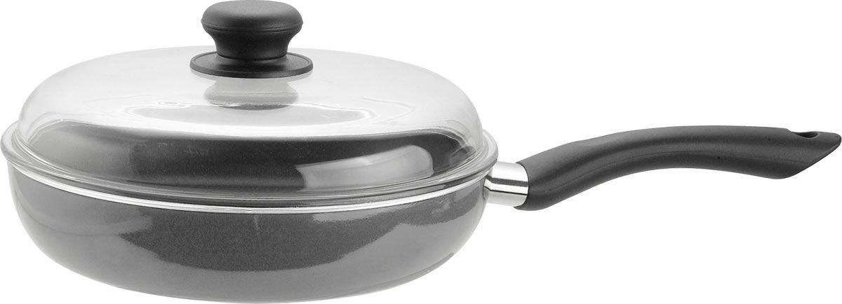 Сковорода Vitesse. Диаметр 26 см. VS-115554 009312Сковорода Vitesse станет незаменимым помощником на кухне. Особенности:Сковорода изготовлена из высококачественного алюминия. Внешнее силиконовое покрытие для удобной чистки. Бакелитовая, высокопрочная, огнестойкая, не нагревающаяся съемная ручка и шарообразная ручка.Внутреннее 3-х слойное тефлоновое покрытие. Быстрый нагрев и равномерное распределение тепла по всей поверхности. Крышка из прозрачного жаропрочного стекла. Пригодна для мытья в посудомоечной машине. Характеристики:Материал: алюминий. Диаметр: 26 см. Высота стенок:6 см. Изготовитель: Китай Артикул:VS-1155.