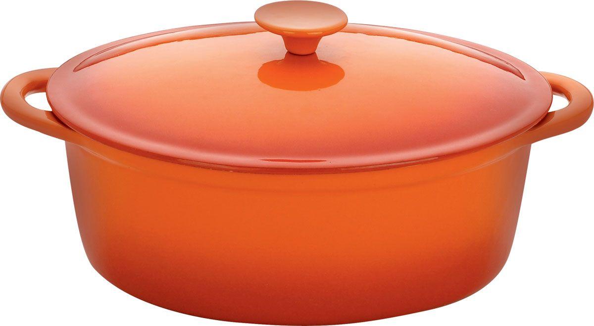 Жаровня чугунная Vitesse Amari с прихватками, 4 лVS-2308Жаровня с крышкой Vitesse Amari, изготовленная из чугуна с антикоррозионным покрытием, станет незаменимым помощником на вашей кухне. Высокая теплоемкость чугуна позволяет ему сильно нагреваться и медленно остывать, а это в свою очередь обеспечивает равномерное приготовление продуктов. Пища, приготовленная в чугунной посуде, сохраняет свои вкусовые качества, и благодаря экологической чистоте материала, не может нанести вред здоровью человека. Также чугунная жаровня обладает высокой прочностью и износоустойчивостью. Жаровня имеет эмалированное внутреннее покрытие белого цвета. Она оснащена двумя короткими удобными ручками и чугунной крышкой. В комплект также входят две прихватки-рукавицы. Жаровня подходит для использования на всех видах кухонных плит. Изделие можно мыть в посудомоечной машине. Характеристики: Материал: чугун, текстиль. Размер (без учета ручек):28 см х 10 см х 21 см. Размер (с учетом ручек):34 см х 10 см х 21 см. Объем:4 л. Размер прихватки:24 см х 16 см. Размер дна:25 см х 19,5 см. Размер упаковки:28 см х 26,5 см х 12 см.Изготовитель:Китай. Артикул:VS-1584.