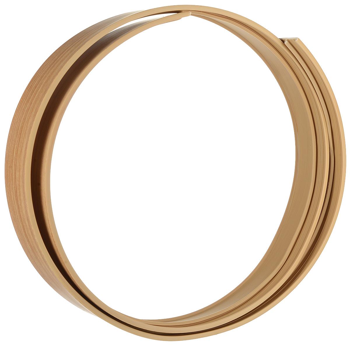 Багет Эскар, цвет: дуб, 5 х 120 см79029Багет Эскар представляет собой изготовленную из поливинилхлорида (ПВХ) полую пластину, применяющуюся как потолочный карниз.Багет для карниза крепится к карнизным шинам. Благодаря багетному карнизу, от взора скрывается верхняя часть штор (шторная лента, крючки), тем самым придавая окну и интерьеру в целом изысканный вид и шарм.