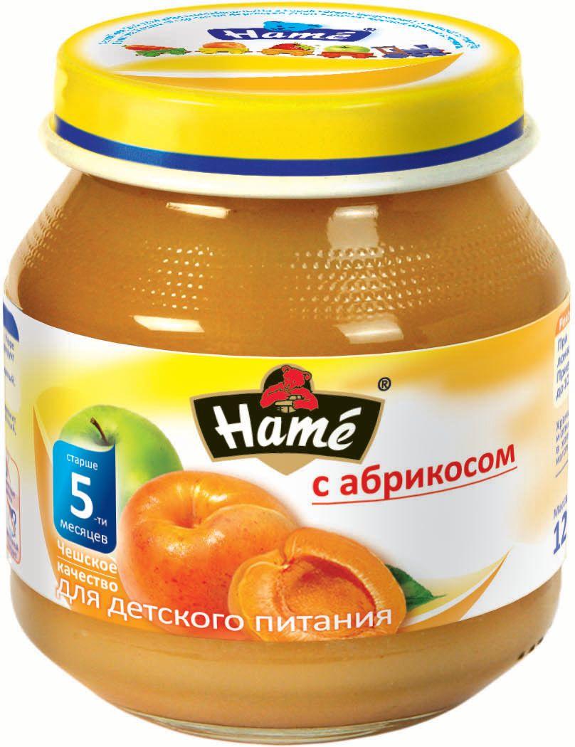 Hame абрикос фруктовое пюре, 125 г