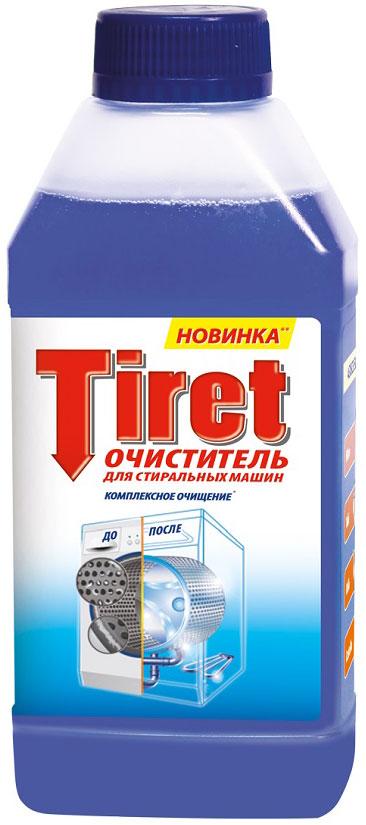 Очиститель для стиральных машин Tiret, 250 млFR-81573191Средство чистящее: очиститель для стиральных машин Tiret. Комплексно очищает вашу стиральную машину благодаря 5 мощным функциям: 1) Устраняет известковый налет и накипь.2) Удаляет мыльный налет.3) Обеспечивает гигиеническую чистоту.4) Устраняет неприятный запах.5) Защищает стиральную машину.Для наилучших результатов следуйте инструкции: 1. Убедитесь, что внутри стиральной машины нет белья.2. Открутите крышку.3. Добавьте небольшое уоличество средства на губку и протрите отсеки для моющего средства и ополаскивателя.4. Залейте остаток жидкости в отсек для моющего средства.5. Запустите температурный режим 60 °С.Для наилучшего результата рекомендуется запускать 2 пустых цикла в год при температурном режиме 60 °С, используя каждый раз 1 бутылочку. Меры предосторожности: храните в недоступном для детей месте, вдали от продуктов питания и напитков. Избегайте попадания в глаза и на кожу. В случае попадания в глаза незамедлительно промойте их большим уоличеством воды и обратитесь к врачу. Вымойте руки после использования. При чувствительной коже используйте защитные перчатки. Не глотать. При случайном проглатывании запейте большим количеством воды и незамедлительно обратитесь к врачу, показав упаковку. Состав: 15% или более, но менее 30% лимонная кислота, менее 5% неионогенные ПАВ, ароматизатор. Срок годности: 2 года с даты производства, указанной на упаковке. Безопасно для септиков.