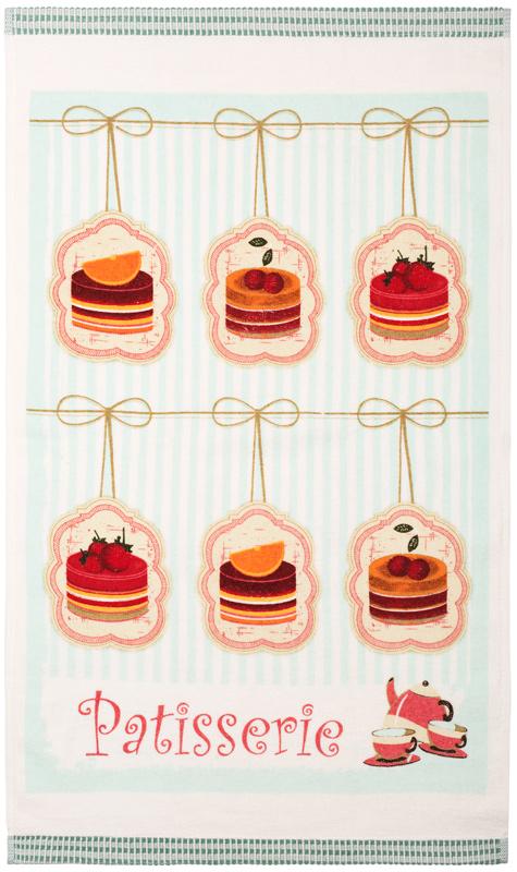 Полотенце кухонное Iris, 40 х 70 см. ПК-02VT-1520(SR)Ваша кухня может быть самой привлекательной, стильной и индивидуальной, благодаря кухонным полотенцам марки Ирис из натурального хлопка. Имеется петля-вешалка у каждого полотенца.