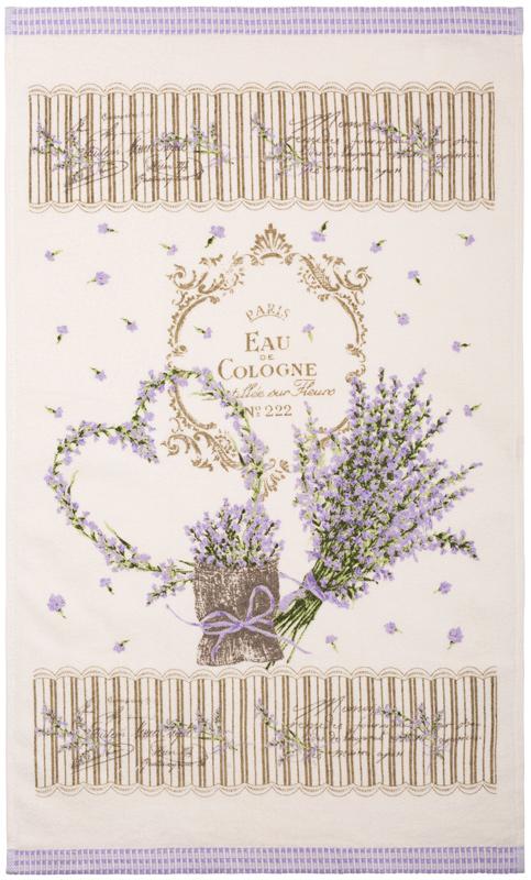 Полотенце кухонное Iris, 40 х 70 см. ПК-08VT-1520(SR)Ваша кухня может быть самой привлекательной, стильной и индивидуальной, благодаря кухонным полотенцам марки Ирис из натурального хлопка. Имеется петля-вешалка у каждого полотенца.