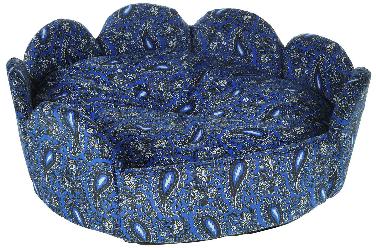 Лежак для животных Грызлик Ам Ложе, цвет: синий, 42 х 42 х 19 смFPLCDМягкий и уютный лежак Грызлик Ам Ложе обязательно понравится вашему питомцу. Он выполнен из высококачественного поплина и оформлен оригинальным принтом. Наполнительвыполнен из мягкого синтепона. Такой материал не теряет своей формы долгое время. Борта и съемная подушка обеспечат вашему любимцу уют.Мягкий лежак станет излюбленным местом вашего питомца, подарит ему спокойный и комфортный сон, а также убережет вашу мебель от многочисленной шерсти.