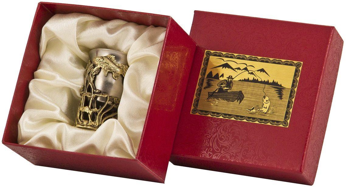 Стопка Арт-студия Классик Ерш. СР-01 ЕршСП-01 Ореллатунь точное художественное литье, внутри- покрытие золотом 0,4591 г.