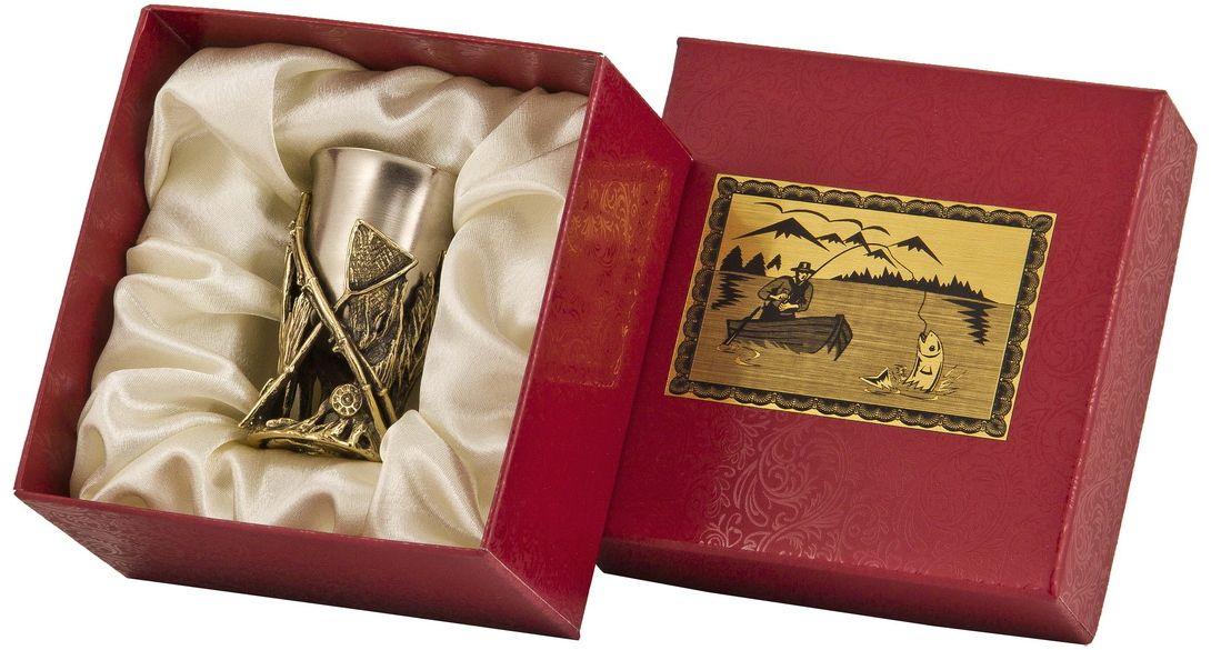 Стопка Арт-студия Классик Снасти. СР-01 СнастиVT-1520(SR)латунь точное художественное литье, внутри- покрытие золотом 0,4591 г.