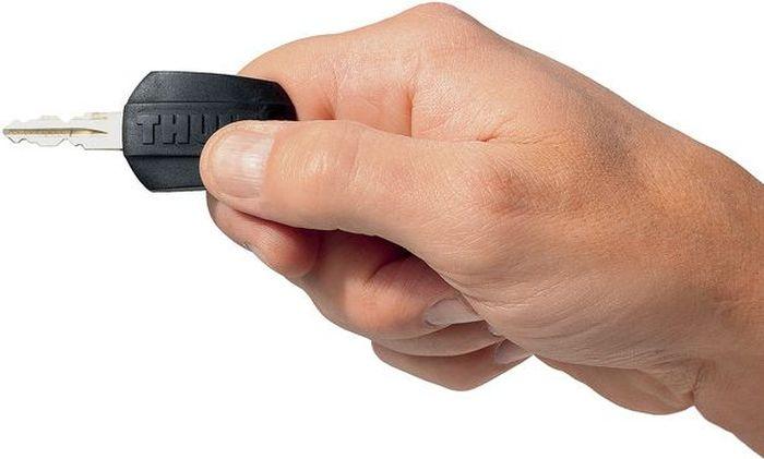 Набор замков Thule One Key System, для автобагажника, 4 шт. 5443-11-1-1-1_черныйСистема Thule One-Key System - Замените личинки всех замков на изделиях Thule и пользуйтесь одним ключом.