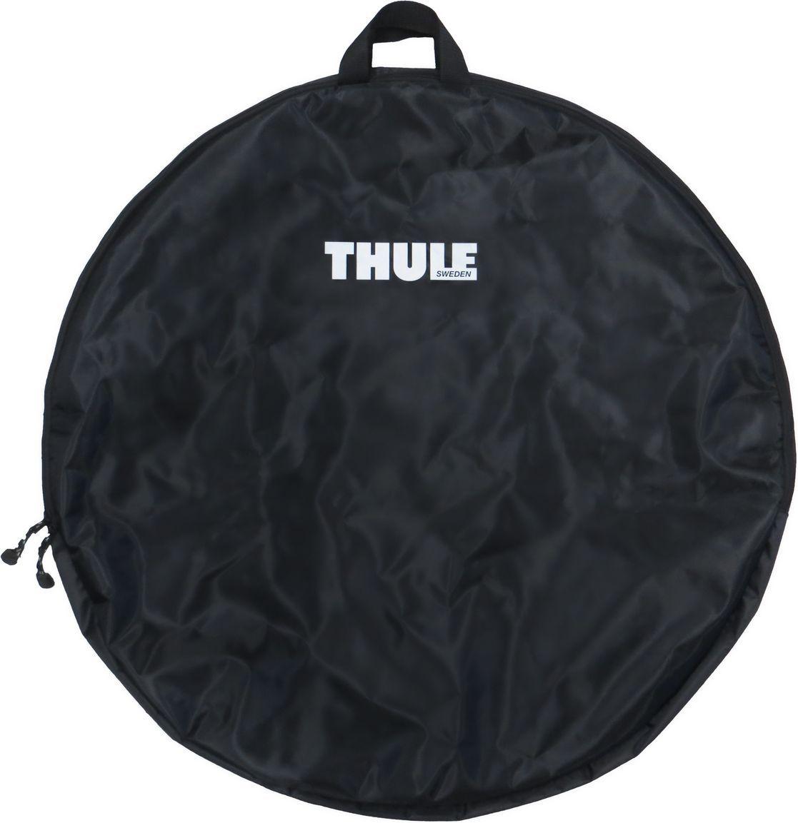 Чехол для велоколеса Thule, размер XL. 563Z90 blackЧехол для колес Thule 563 XL - Специально спроектированная, высококлассная сумка для передних колес.