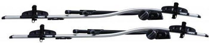 Велосипедное крепление Thule ProRide Twin Pack на крышу автомобиля, 2 шт. 591040ГризлиThule ProRide Twin Pack (591x2шт) Велосипедное крепление на крышу автомобиля 2 шт.