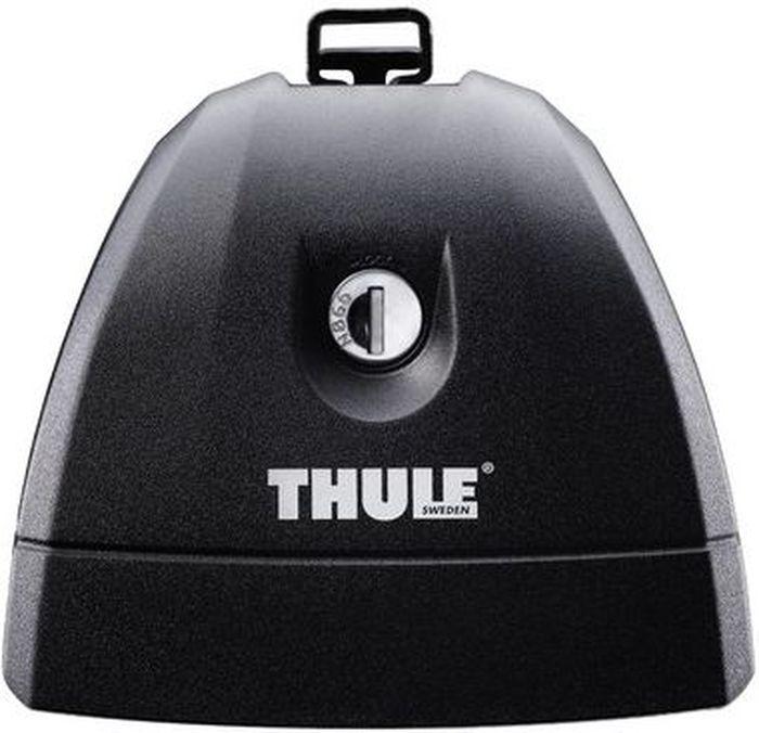Упоры для автомобилей Thule, со специальными штатными местами. 75180621Thule Rapid System 751, 7511 - Удобный, универсальный багажник для установки на автомобилях с точками крепления.